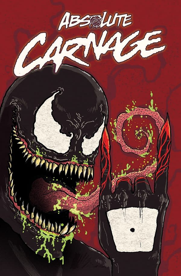 Donny Cates Draws His Own Cover For Absolute Carnage, Exclusive to Midtown Comics
