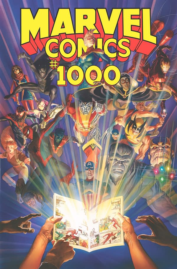 Marvel Comics #1000 and #1001, Collected in Hardcover