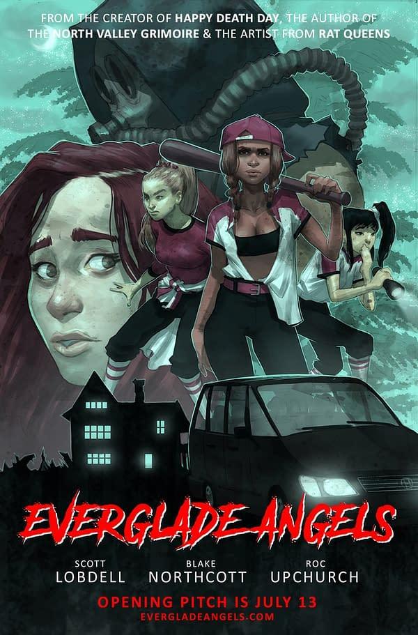 "Roc Upchurch Returns to Comics With Survivalist Horror, ""Everglade Angels"""