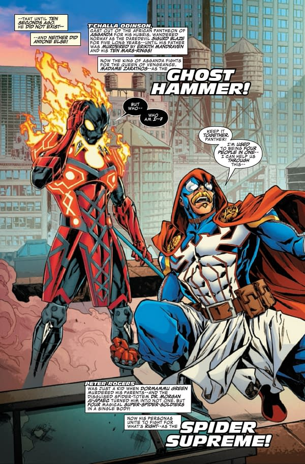 Have the Infinity Warps Gone Too Far? Secret Warps Iron Hammer Annual #1 [Preview]