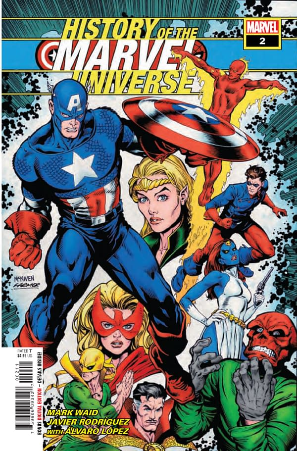 History of the Marvel Universe #2 [Preview]