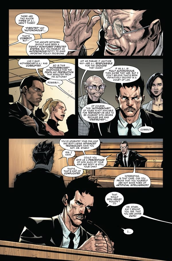 Tony Stark Iron Man #15 [Preview]