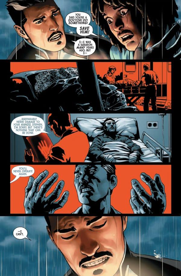 Will Doctor Strange Let a Child Die in Doctor Strange #19? [Preview]