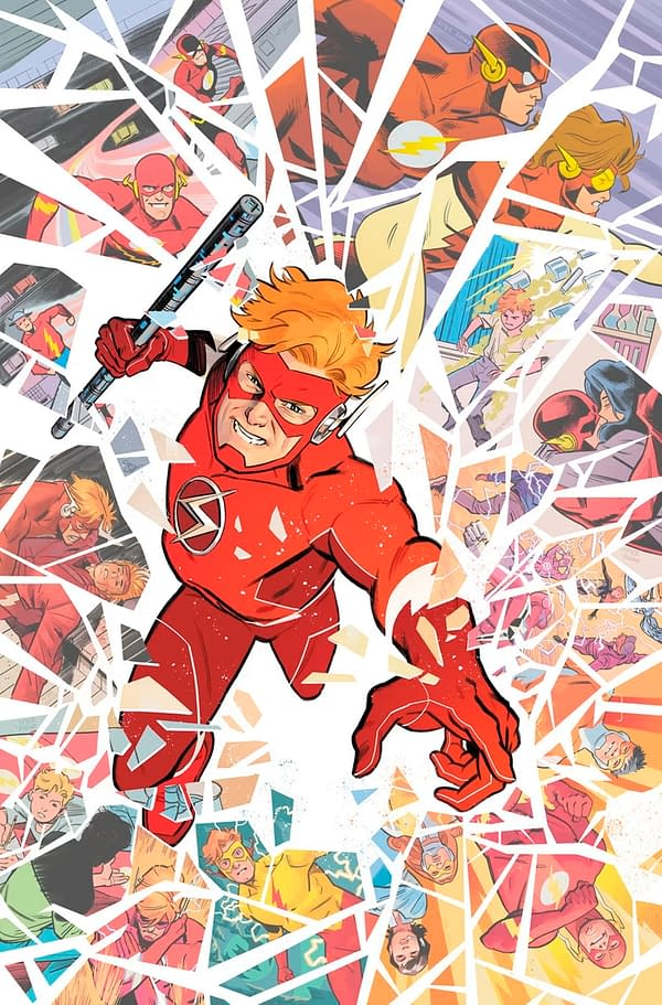 Scott Lobdell Will Explain Dark Dimensions and the DC Multiverse in Flash Forward #4. Maybe.