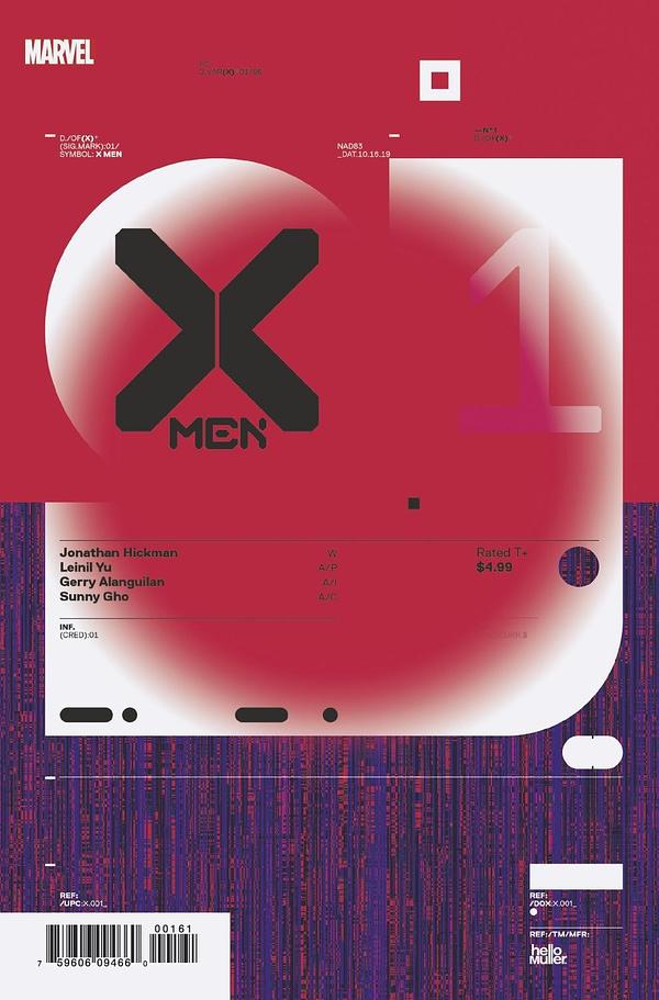 X-Men #1 Dominates Advance Reorders