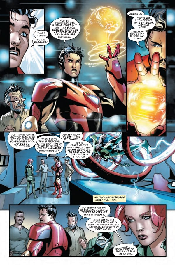 Tony Stark Iron Man #16 [Preview]