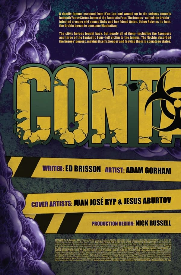 Contagion #5 [Preview]