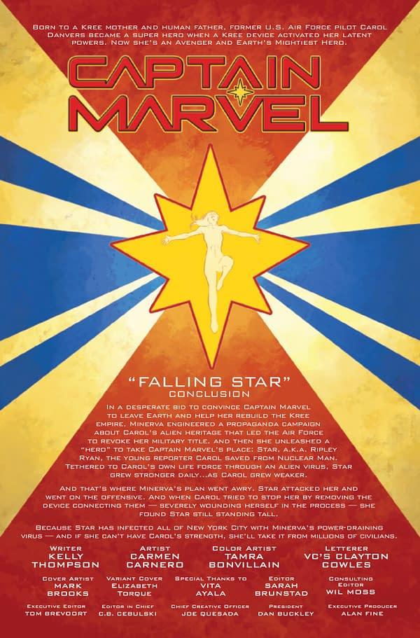 Captain Marvel #11 [Preview]