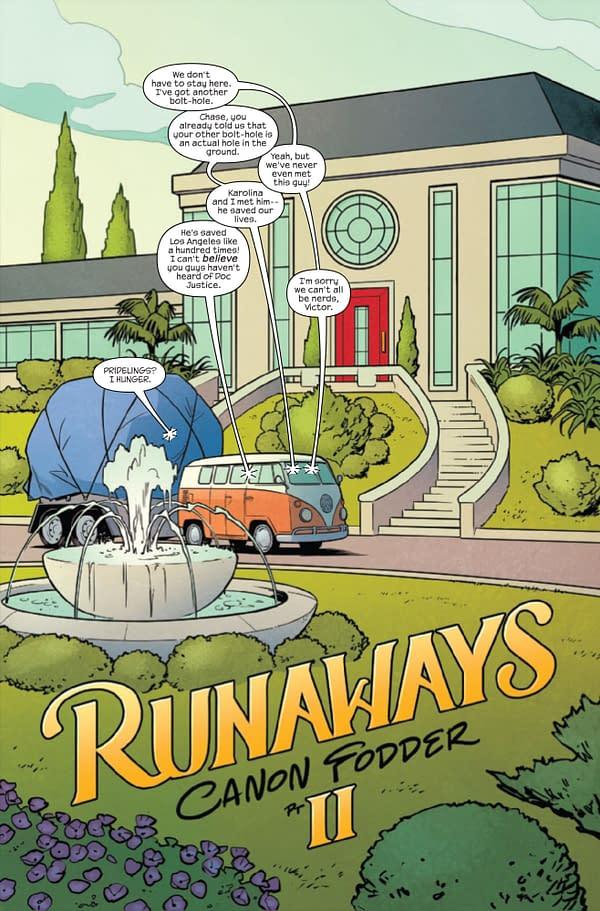 Runaways #26 [Preview]