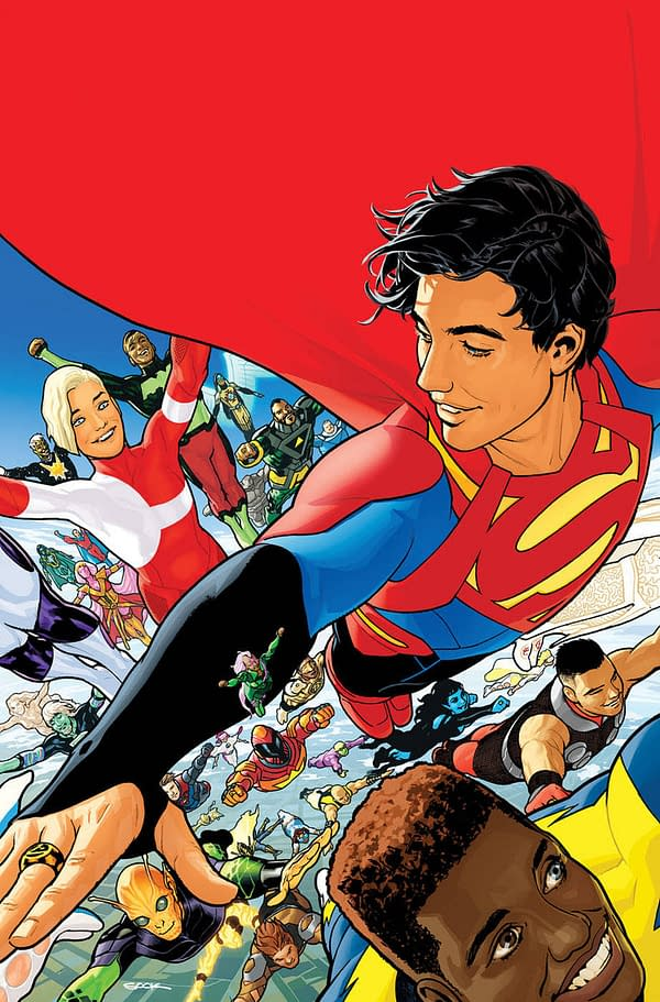 """""""Platinum"""" Legion Rings Free With Every 100 Copies of Legion Of Super-Heroes #1"""