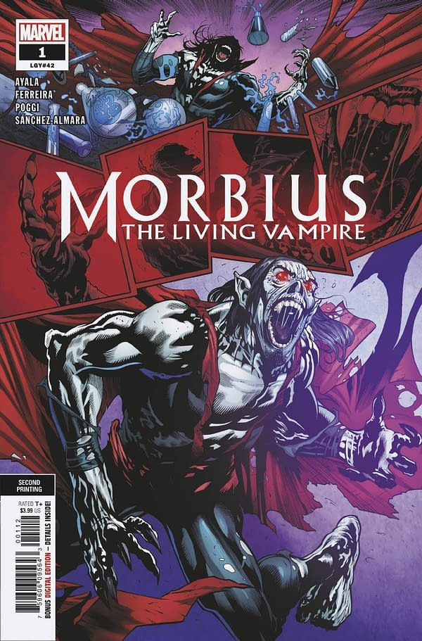 Second Printings for Morbius, Heartbeat, Bernie Sanders and More