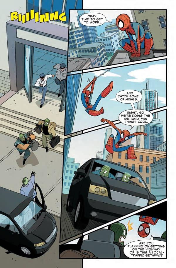 Spider-Man & Venom: Double Trouble #1 [Preview]