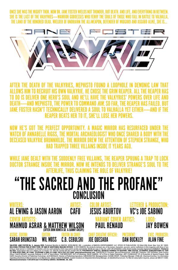 Valkyrie: Jane Foster #4