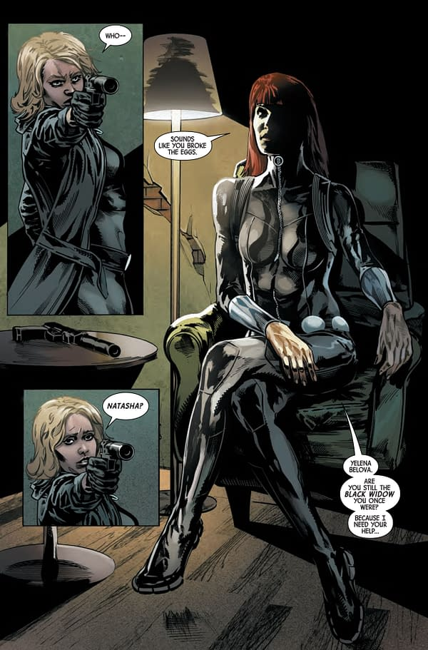 Web of Black Widow #3 [Preview]