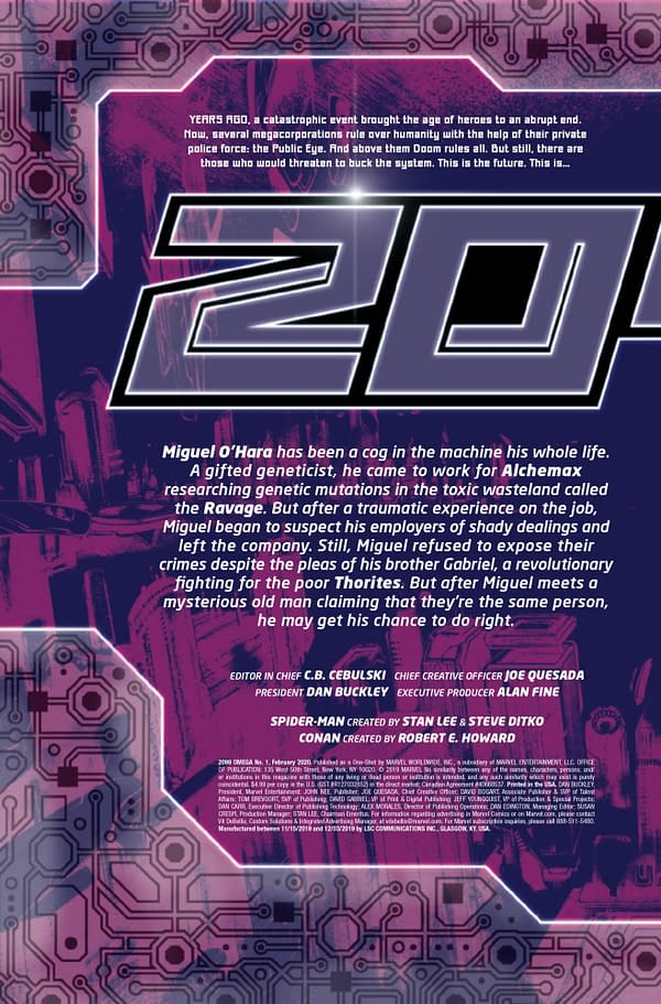 2099 Omega #1 [Preview]
