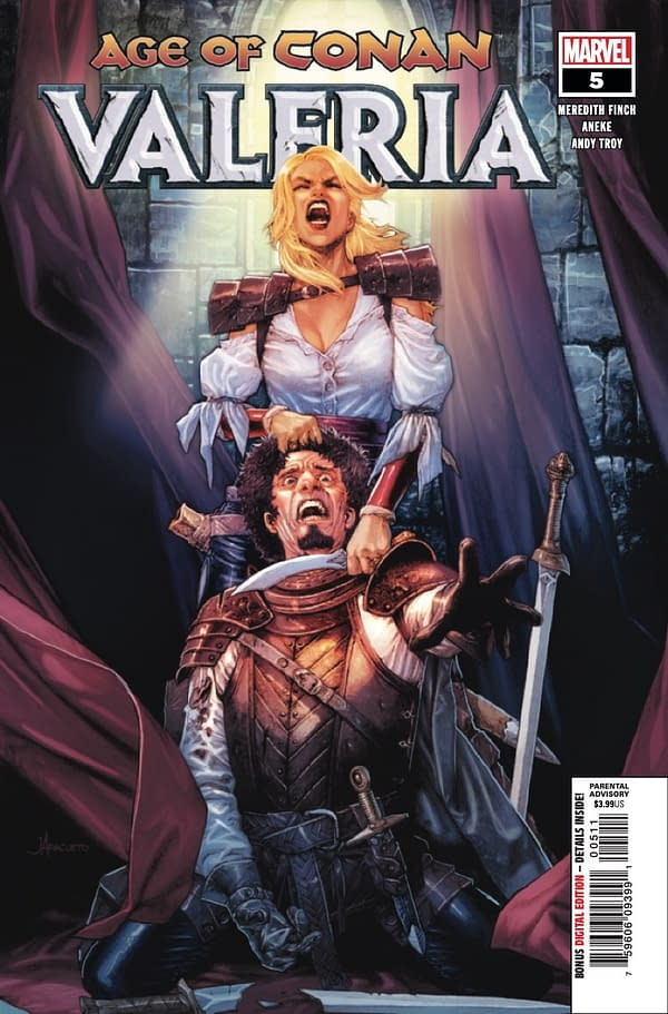 Age of Conan: Valeria #5 [Preview]