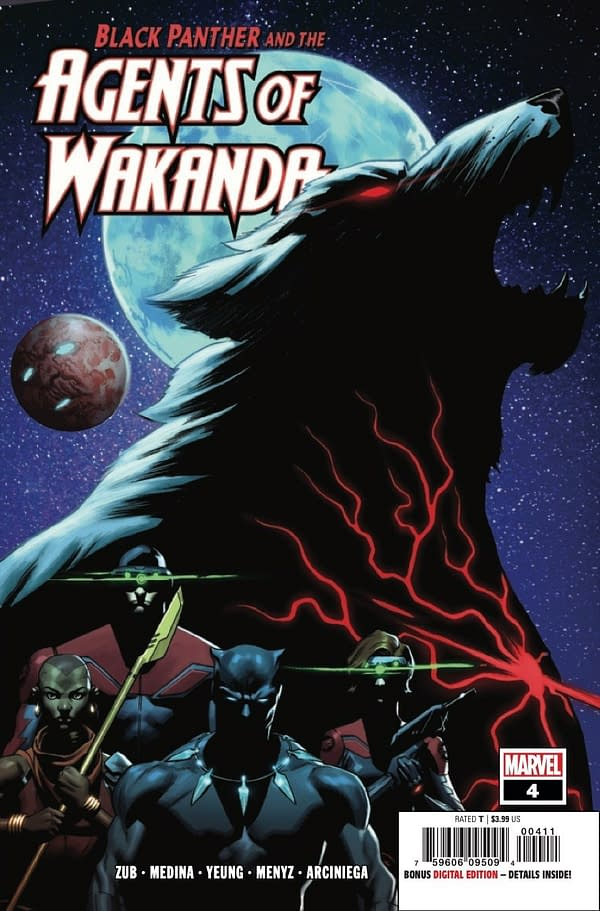 Black Panther and the Agents of Wakanda #4 [Preview]