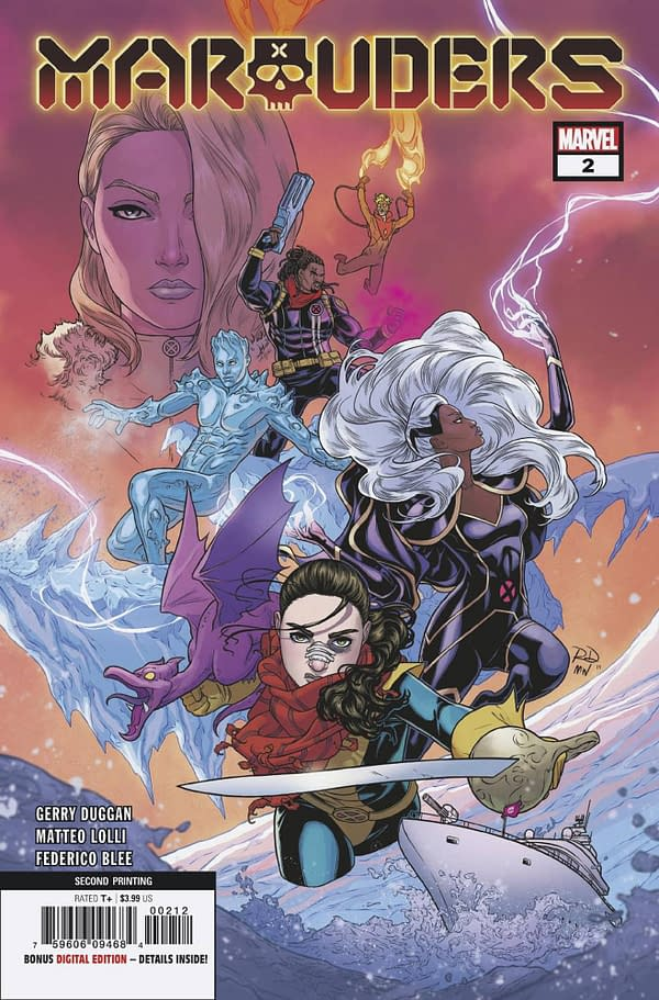 Fallen Angels #2, New Mutants #2, X-Force #2 and Scream: Curse Of Carnage #1 Get Second Printings For 2020