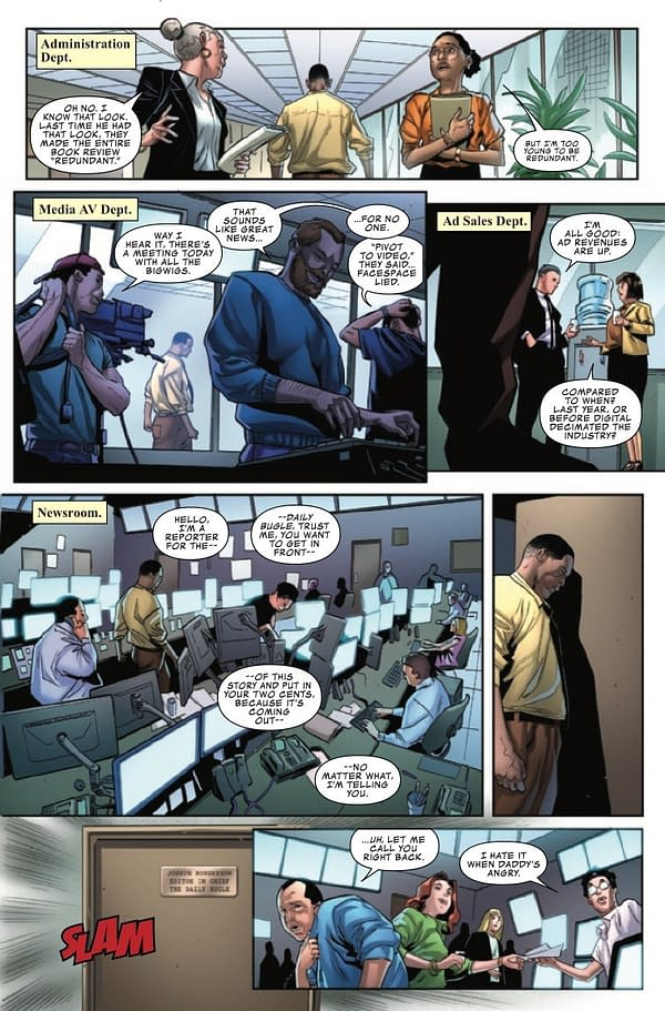 Amazing Spider-Man: Daily Bugle #1 [Preview]