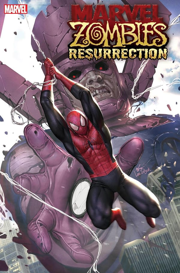 DCeased Galactus Arrives in Marvel Zombies: Resurrection Series by  Phillip Kennedy Johnson and Leonard Kirk