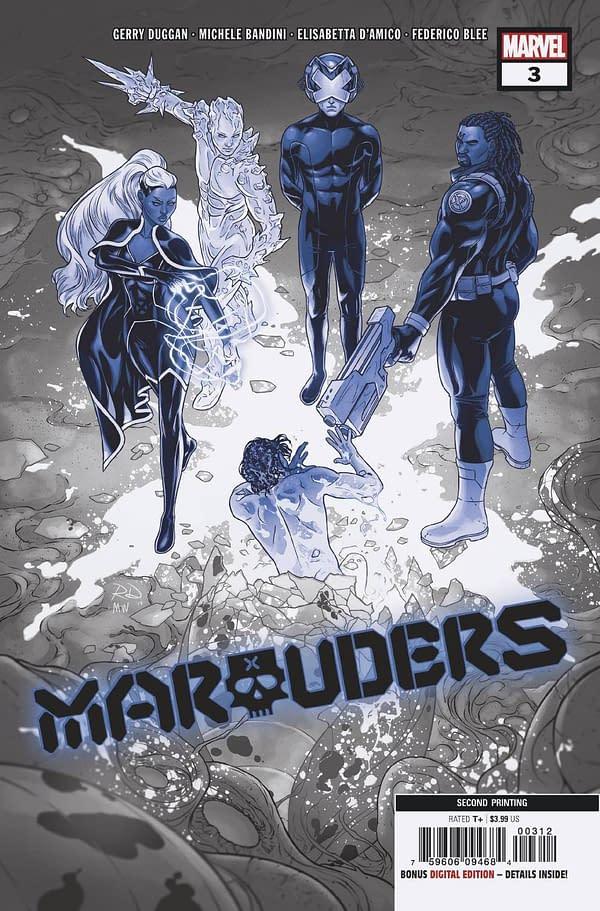 TMNT 101, Star, Sabretooth, Marvels X and Dawn Of X Get Second Printings