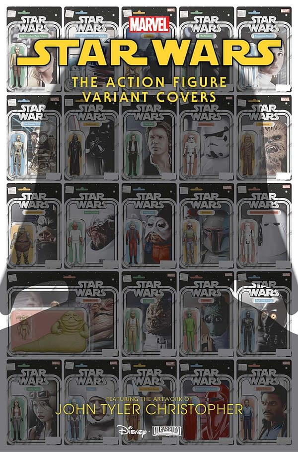 Star Wars Action Figure Variants Collected in $10 One-Shot in April
