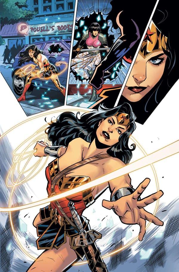 Wonder Woman #752 Makes a Change - No Longer Event Leviathan But Revealing Secrets Of Warmaster