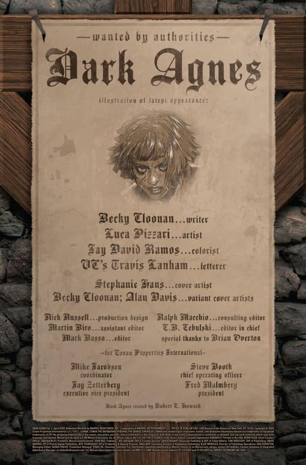 Dark Agnes #1 [Preview]