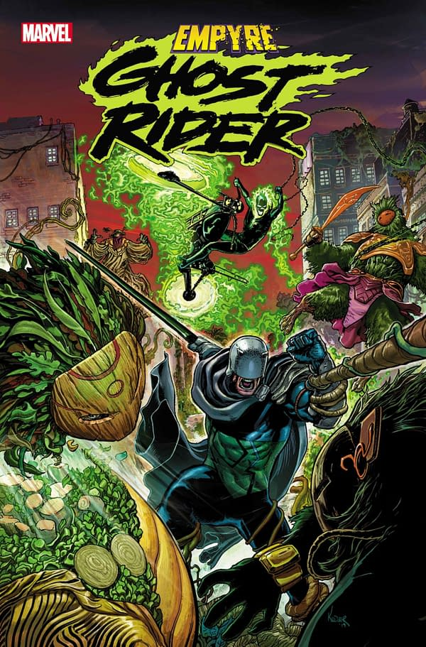 Finally, Ghost Rider Gets His Own Empyre Tie-In