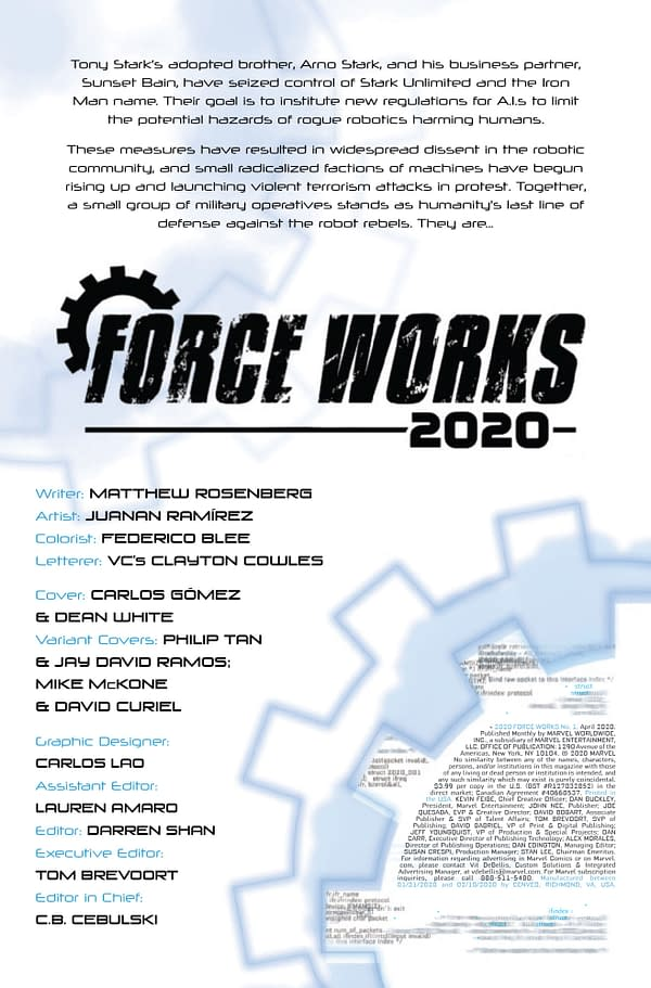 Force Works 2020 #1 [Preview]