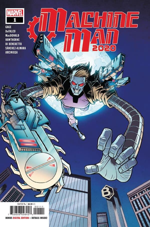 Machine Man 2020 #1 [Preview]