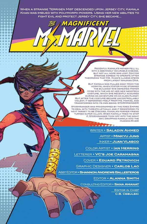 Magnificent Ms. Marvel #12 [Preview]