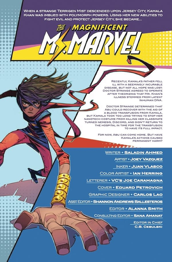 Magnificent Ms. Marvel #13 [Preview]