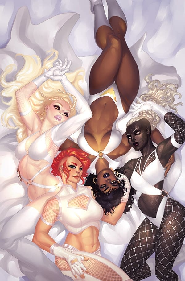 "Bring On The Bad Girls – ""sacredsix"" Sees Priest Crosses Over Vampirella, Pantha, Chastity, Nyx in Spin-Off Series From Dynamite in May"