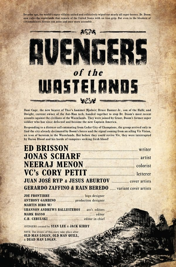 Avengers of the Wastelands #3 [Preview]