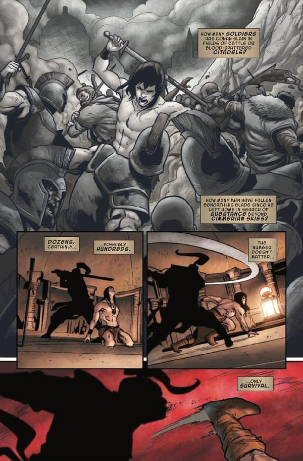 Conan Does the Crucible... an X-Men Crossover? Conan the Barbarian #14 [Preview]