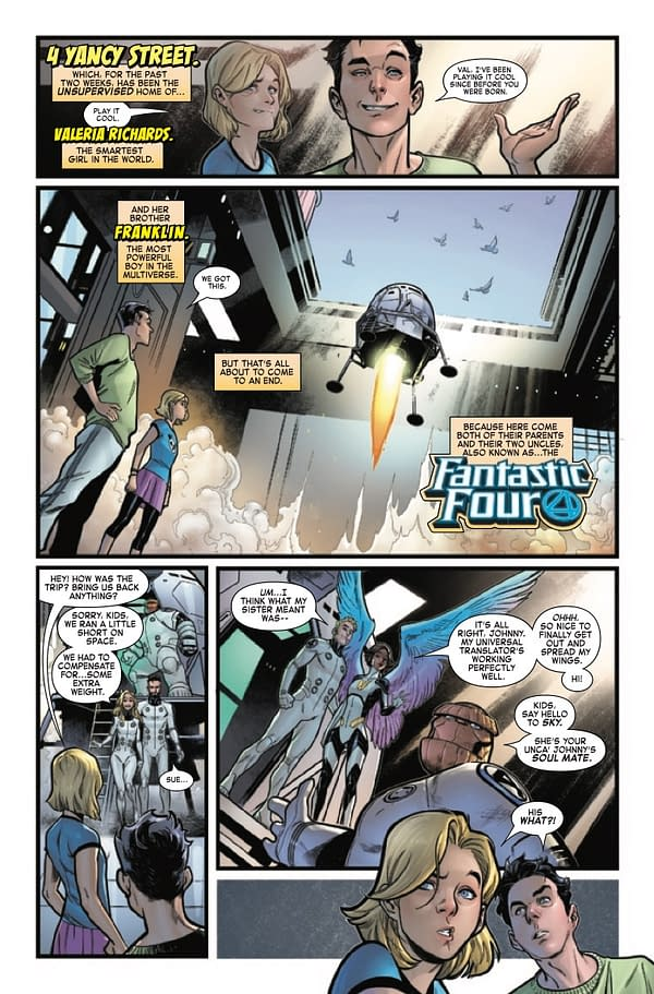 Sky and Johnny Have Soulmate Troubles in Fantastic Four #20 [Preview]