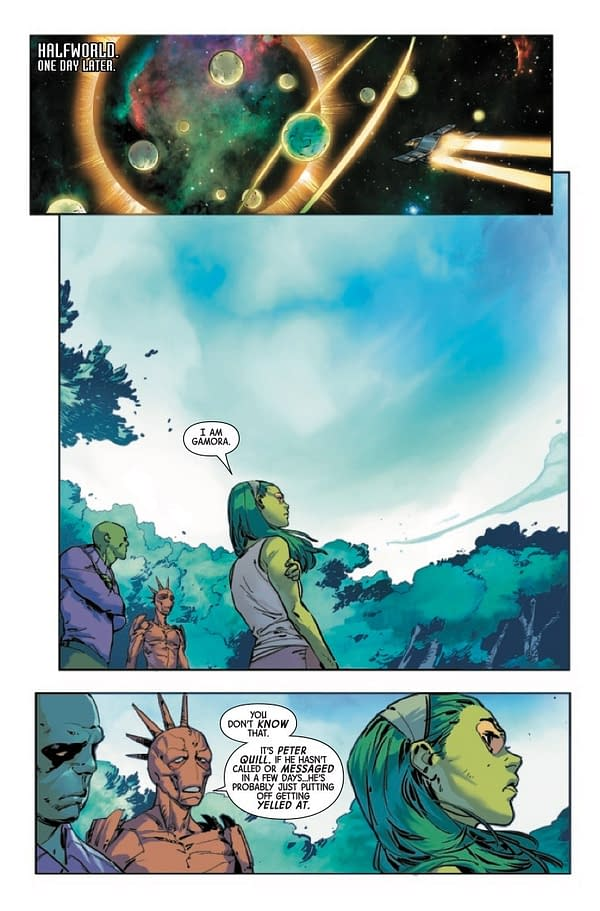 Guardians of the Galaxy #3 [Preview]