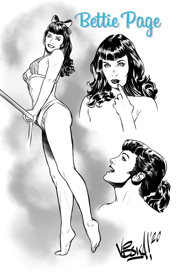Karla Pacheco and Vincenzo Federici Bring Back Alternate History Bettie Page