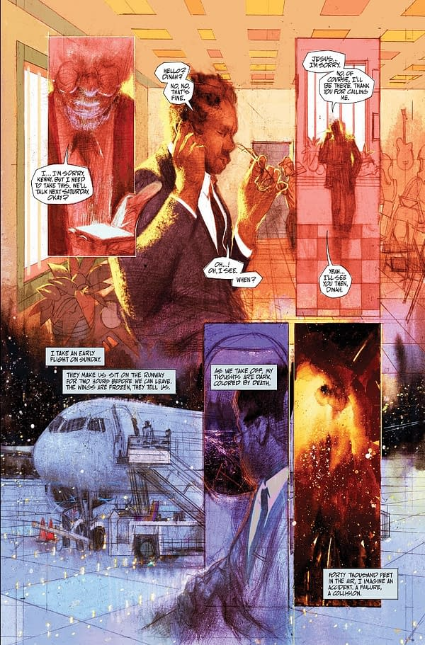 Grafity Wall's Ram V and Anand RK Reunite for Blue In Green OGN From Image Comics