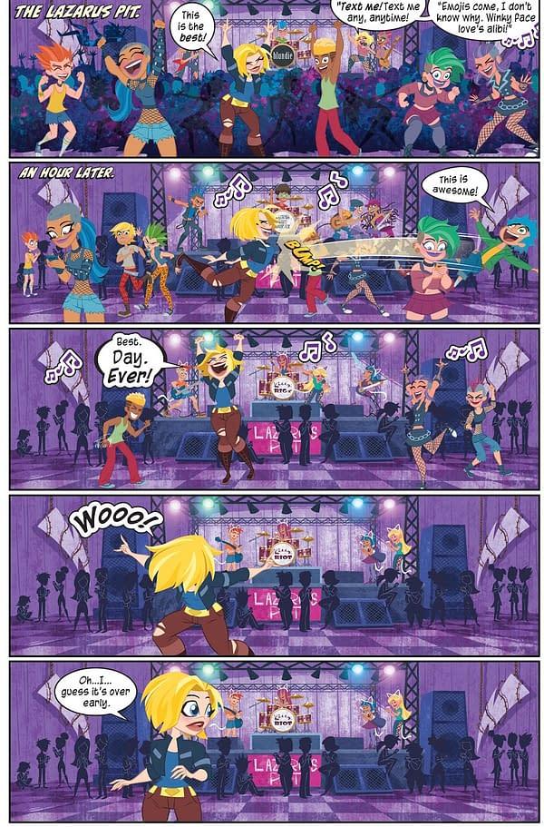 Supergirl's Favourite Nightclub is The Lazarus Pit.