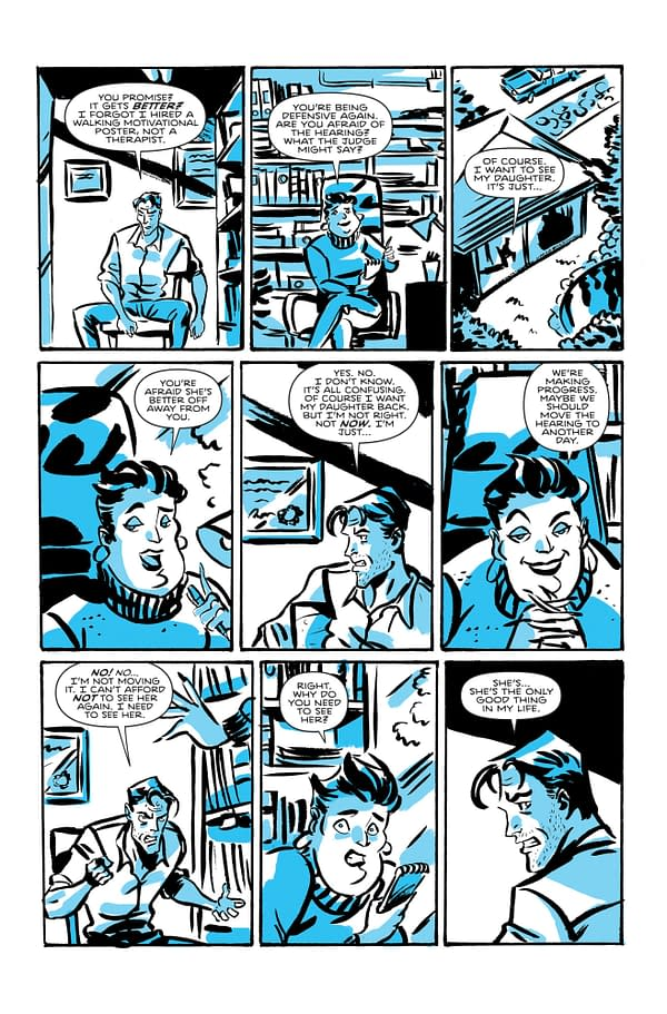 Page three of Cut-Man #1 by Alexander Banks-Jongman and Robert Ahmad.