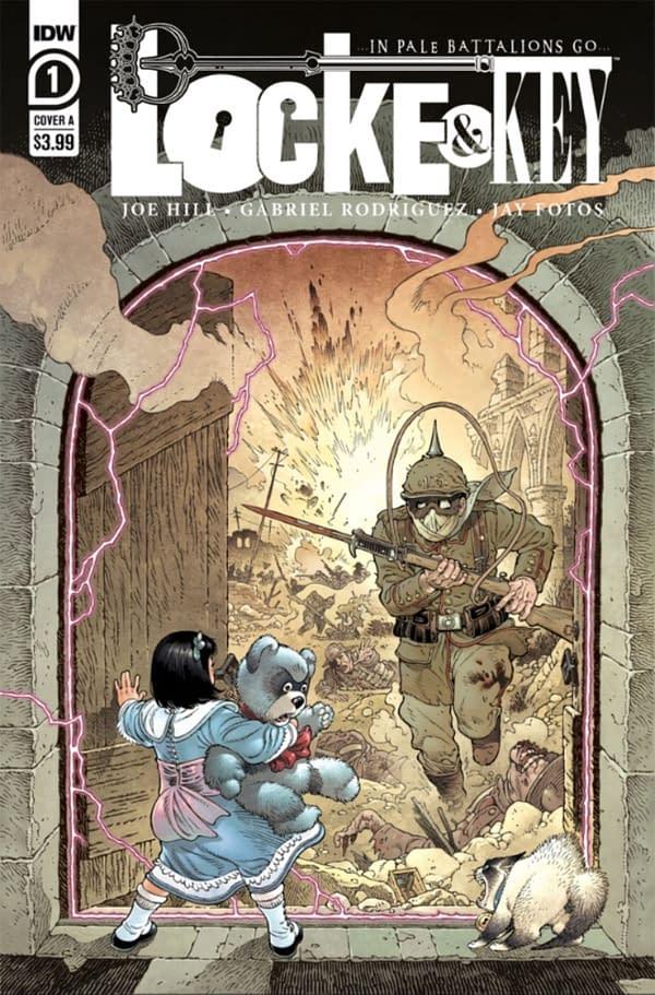 Joe Hill on Locke And Key/Sandman Crossover and World War Key.