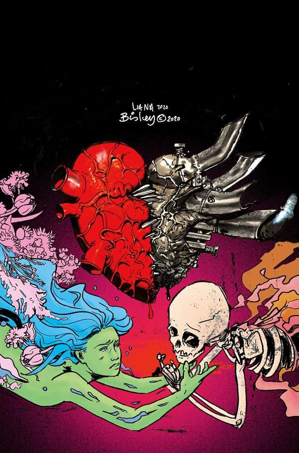 Simon Bisley and Liana Kangas' Cover For Environmental Graphic Novel.
