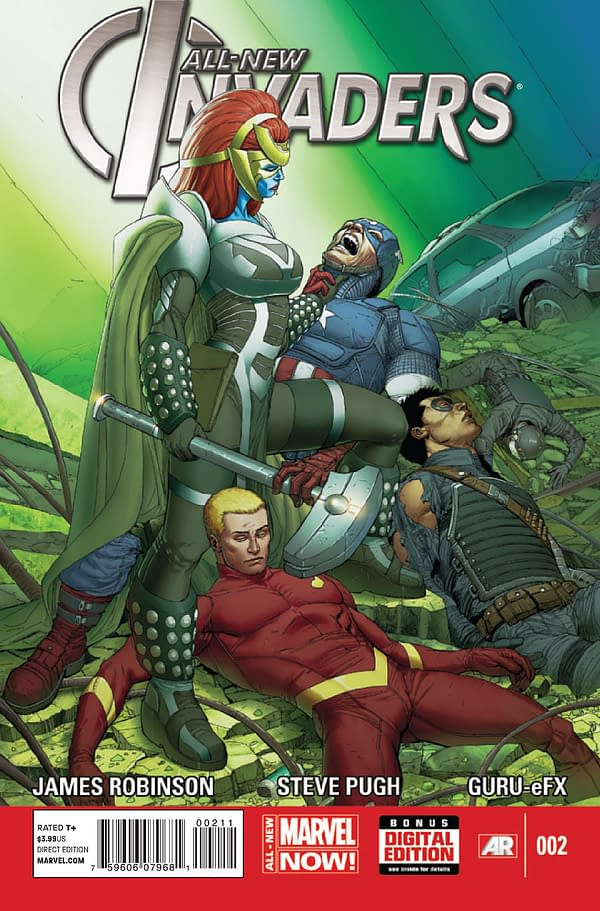 All-New Invaders #2 Cover