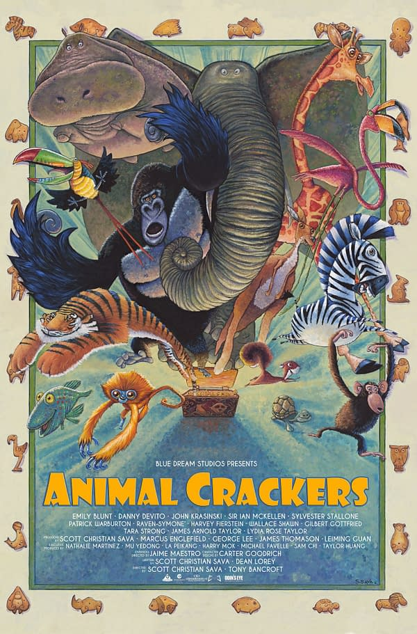 Watch Trailer For Animated Film Animal Crackers, On Netflix In July
