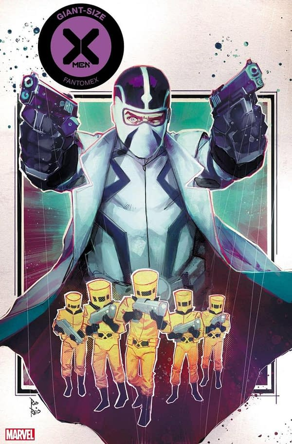 GIANT-SIZE X-MEN: FANTOMEX #1 cover. Credit: Marvel.