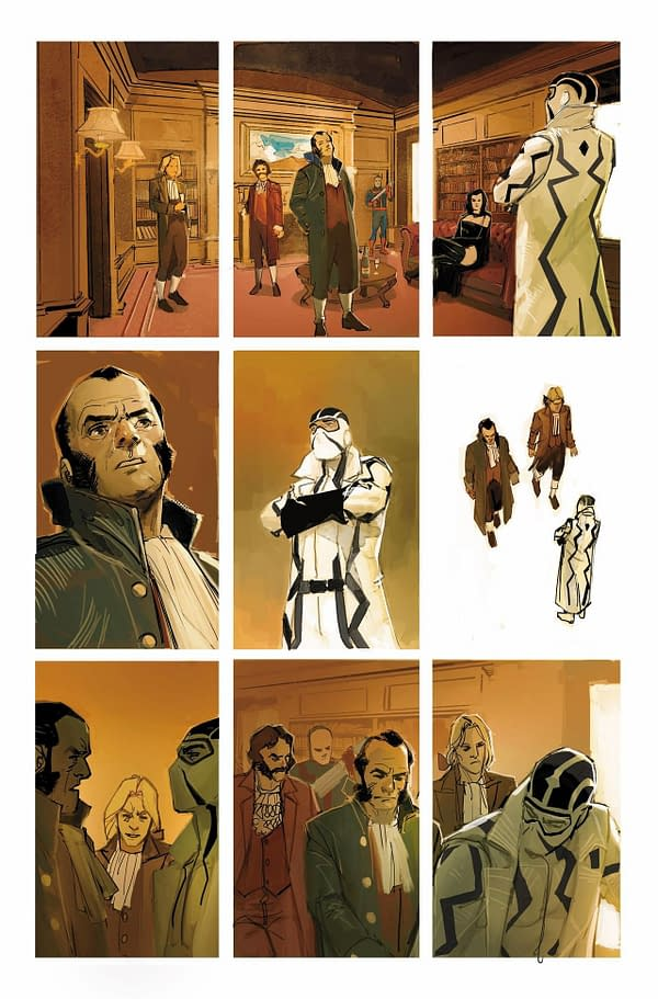 A page from GIANT-SIZE X-MEN: FANTOMEX #1. Credit: Marvel.