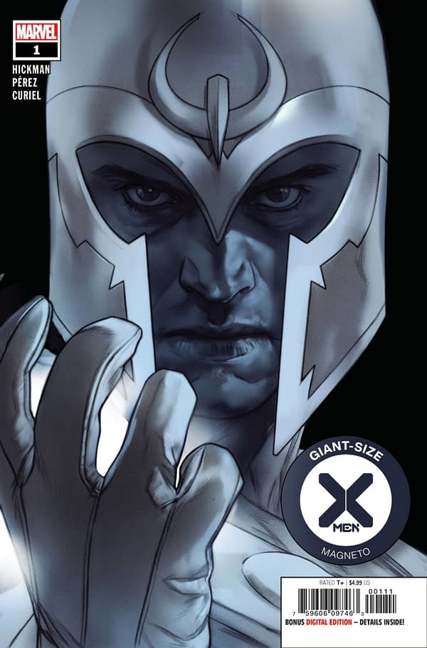 The cover to Giant-Size X-Men: Magneto #1.