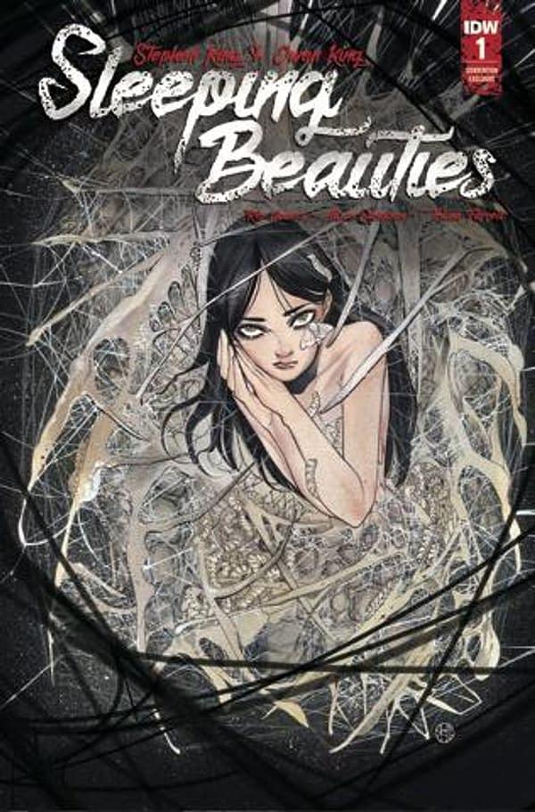 Sleeping Beauties #1 SDCC exclusive. Credit: IDW's Webstore.